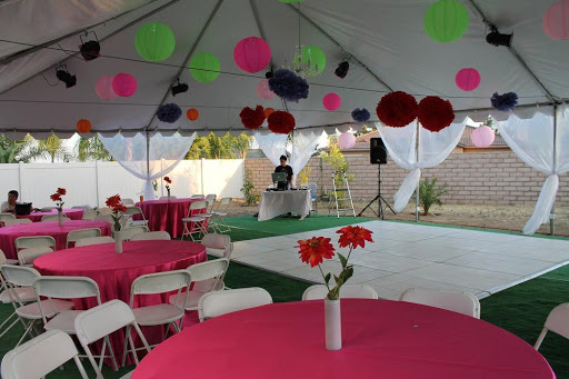 Consider party rentals